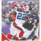 Fred Jackson 2011 Score #31 Buffalo Bills Football Card