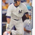 Zoilo Almonte 2014 Topps #260 New York Yankees Baseball Card