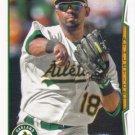 Alberto Callaspo 2014 Topps #238 Oakland Athletics Baseball Card