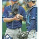 Alex Cobb 2014 Topps #176 Tampa Bay Rays Baseball Card