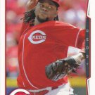 Johnny Cueto 2014 Topps #16 Cincinnati Reds Baseball Card