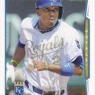Alcides Escobar 2014 Topps #514 Kansas City Royals Baseball Card