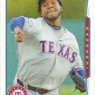Neftali Feliz 2014 Topps #310 Texas Rangers Baseball Card
