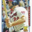 Evan Gattis 2014 Topps #464 Atlanta Braves Baseball Card
