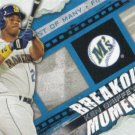 Ken Griffey Jr. 2014 Topps 'Breakout Moment' #BM-24 Seattle Mariners Baseball Card