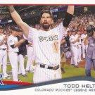 Todd Helton 2014 Topps #253 Colorado Rockies Baseball Card