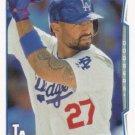 Matt Kemp 2014 Topps #460 Los Angeles Dodgers Baseball Card
