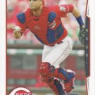 Devin Mesoraco 2014 Topps #393 Cincinnati Reds Baseball Card
