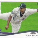 Juan Nicasio 2014 Topps #13 Colorado Rockies Baseball Card