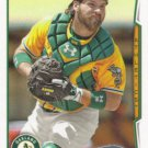 Derek Norris 2014 Topps #346 Oakland Athletics Baseball Card