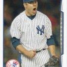 David Phelps 2014 Topps Update #US-127 New York Yankees Baseball Card