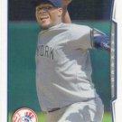 Michael Pineda 2014 Topps #553 New York Yankees Baseball Card