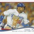 Yasiel Puig 2014 Topps #552 Los Angeles Dodgers Baseball Card
