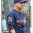 Aramis Ramirez 2014 Topps Update All Star #US-18 Milwaukee Brewers Baseball Card