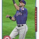 Alex Rios 2014 Topps #201 Texas Rangers Baseball Card