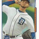 Anibal Sanchez 2014 Topps #81 Detroit Tigers Baseball Card