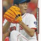 Koji Uehara 2014 Topps #426 Boston Red Sox Baseball Card