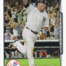 Vernon Wells 2014 Topps #222 New York Yankees Baseball Card