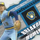 Robin Yount 2014 Topps 'Breakout Moment' #BM-25 Milwaukee Brewers Baseball Card