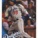 Manny Ramirez 2010 Topps #55 Los Angeles Dodgers Baseball Card