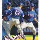 Texas Rangers 2010 Topps #5 Baseball Team Card