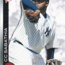 C.C. Sabathia 2010 Topps 'Topps Town' #TTT23 New York Yankees Baseball Card
