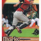 Chris Snyder 2010 Topps #303 Arizona Diamondbacks Baseball Card
