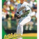 Justin Duchscherer 2010 Topps #153 Oakland Athletics Baseball Card