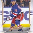 Mats Zuccarello 2014-15 Upper Deck MVP #182 New York Rangers Hockey Card