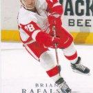 Brian Rafalski 2008-09 Upper Deck #323 Detroit Red Wings Hockey Card