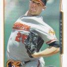 Bud Norris 2014 Topps #543 Baltimore Orioles Baseball Card