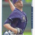 David Price 2014 Topps #489 Tampa Bay Rays Baseball Card