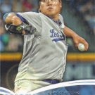 Hyun-Jin Ryu 2014 Topps 'Future Is Now' #FN-15 Los Angeles Dodgers Baseball Card