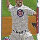 Carlos Villanueva 2014 Topps #272 Chicago Cubs Baseball Card