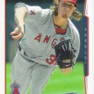 Jered Weaver 2014 Topps #548 Los Angeles Angels Baseball Card
