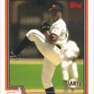 Jerome Williams 2004 Topps #580 San Francisco Giants Baseball Card