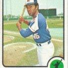 Oscar Brown 1973 Topps #312 Atlanta Braves Baseball Card