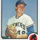 Jay Colborn 1973 Topps #408 Milwaukee Brewers Baseball Card