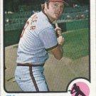 Jim Spencer 1973 Topps #319 California Angels Baseball Card