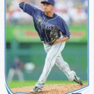 Chris Archer 2013 Topps Update #US320 Tampa Bay Rays Baseball Card