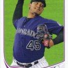 Jhoulys Chacin 2013 Topps #613 Colorado Rockies Baseball Card