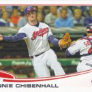 Lonnie Chisenhall 2013 Topps #341 Cleveland Indians Baseball Card