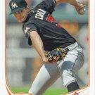 Steve Cishek 2013 Topps #621 Miami Marlins Baseball Card