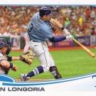 Evan Longoria 2013 Topps #103 Tampa Bay Rays Baseball Card