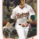 Jed Lowrie 2013 Topps #104 Houston Astros Baseball Card