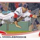 Will Middlebrooks 2013 Topps #64 Boston Red Sox Baseball Card