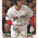 Daniel Nava 2013 Topps #66 Boston Red Sox Baseball Card
