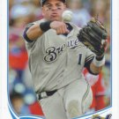 Aramis Ramirez 2013 Topps #605 Milwaukee Brewers Baseball Card