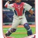 Carlos Santana 2013 Topps #141 Cleveland Indians Baseball Card