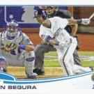 Jean Segura 2013 Topps Update #US214 Milwaukee Brewers Baseball Card